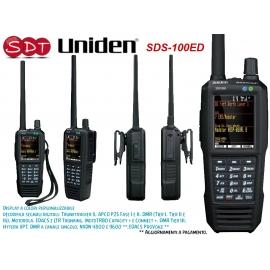 SDS-100ED UNIDEN SCANNER PORTATILE 25-512MHz, 758-960MHz e 1240-1300 MHZ AM, FM, NFM, WFM o FMB e DIGITALI