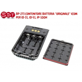 "BP-273 CONTENITORE BATTERIA ""ORIGINALE"" ICOM PER ID-31, ID-51, IP-100H"