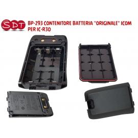 """BP-293 CONTENITORE BATTERIA """"ORIGINALE"""" ICOM PER IC-R30"""