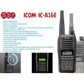 ICOM IC-A16E, RICETRASMETTITORE PORTATILE AERONAUTICO VHF