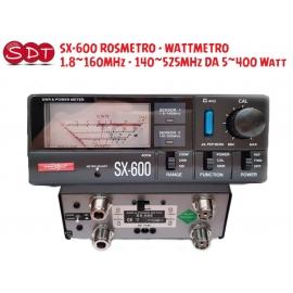 SX-600 ROSMETRO - WATTMETRO 1.8~160MHz - 140~525MHz DA 5~400 Watt