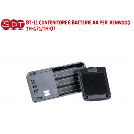 BT-11 CONTENITORE 6 BATTERIE AA PER KENWOOD TH-G71/TH-D7