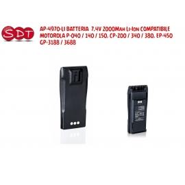 PMNN4066 BATTERIA CON CLIP 7,2V 1500Mah Li-ion PER MOTOROLA DP3600/3400/3601 - XPR-6350/6550