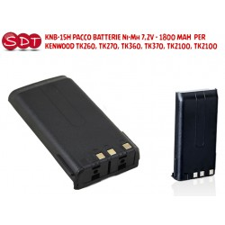 KNB-15H PACCO BATTERIE...