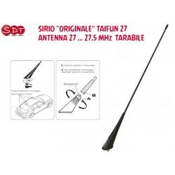 "SIRIO ""ORIGINALE"" TAIFUN 27 ANTENNA 27 … 27.5 MHz  TARABILE"