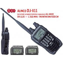 ALINCODJ-X11 RICEVITORE-SCANNER PORTATILE ANALOGICO DA 0,05 ~ 1.300 MHz ALL MODE