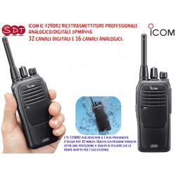 ICOM IC-F29DR RICETRASMETTITORE PROFESSIONALE PORTATILE ANALOGICO/DIGITALE dPMR446 - 16 CANALI