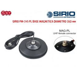 SIRIO PM-145 PL BASE MAGNETICA DIAMETRO 160 mm