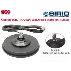 SIRIO DV MAG 145 S BASE MAGNETICA DIAMETRO 160 mm