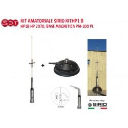 KIT DUALBAND SIRIO KIT HP1B HP 2070, BASE MAGNETICA PM-100 PL