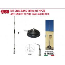 KIT DUALBAND SIRIO KIT HP2B HP 2070H, BASE MAGNETICA
