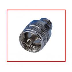CONNETTORE PL 259/R RIDOTTO, Isolamento PTFE per RG 58, DC-0,5GHz