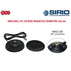 SIRIO MAG 145 3/8 BASE MAGNETICA DIAMETRO 160 mm