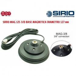 SIRIO MAG 125 3/8 BASE MAGNETICA DIAMETRO 127 mm