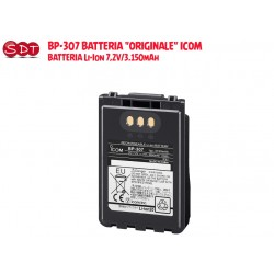 "BP-307 BATTERIA ""ORIGINALE"" ICOM  BATTERIA Li-Ion 7,2V/3.150mAh PER ID-31, ID-51, IP-100H, IC-705"