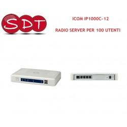 ICOM IP1000C-12 RADIO SERVER PER 100 UTENTI