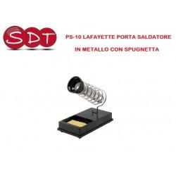 PS-10 LAFAYETTE PORTA SALDATORE IN METALLO CON SPUGNETTA