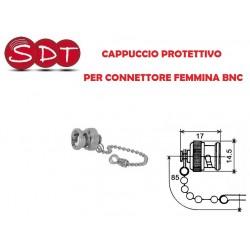 CAPPUCCIO PROTETTIVO PER CONNETTORE FEMMINA BNC