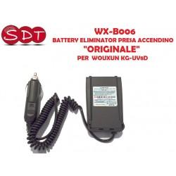 """WX-B006 BATTERY ELIMINATOR """"ORIGINALE"""" PER  WOUXUN KG-UV8D"""