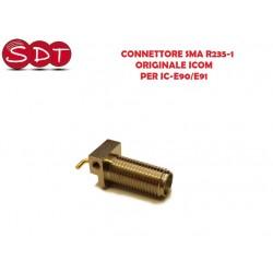 CONNETTORE SMA R235-1 ORIGINALE ICOM PER IC-E90/E91