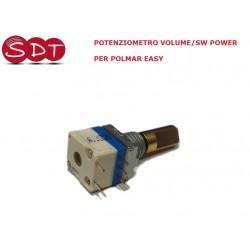 POTENZIOMETRO VOLUME/SW POWER PER POLMAR EASY