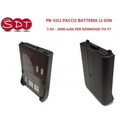 PB-42LI PACCO BATTERIA LI-ION 7.4V - 2000 mAh PER KENWOOD TH-F7/F6