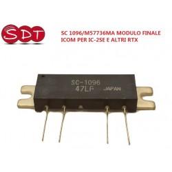 SC 1096/M57736MA MODULO FINALE ICOM PER IC-2SE E ALTRI RTX