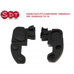 """KNOB/TASTI PTT/LAMP/MONI TH-79 """"ORIGINALE"""" PER  KENWOOD TH-79"""