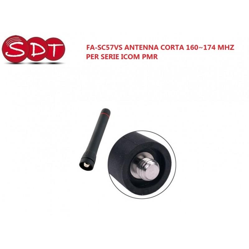 FA-SC57VS ANTENNA CORTA 160~174 MHZ  PER SERIE ICOM PMR