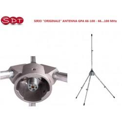 """SIRIO """"ORIGINALE"""" ANTENNA GPA 66-108 - 66…108 MHz"""