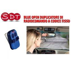 BLUE OPEN DUPLICATORE DI RADIOCOMANDO A CODICE FISSO