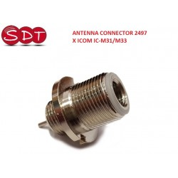 ANTENNA CONNECTOR 2497 X ICOM IC-M31/M33