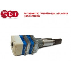 POTENZIOMETRO TP76D995N-20FC103A103 PER ICOM IC-M1EUROV
