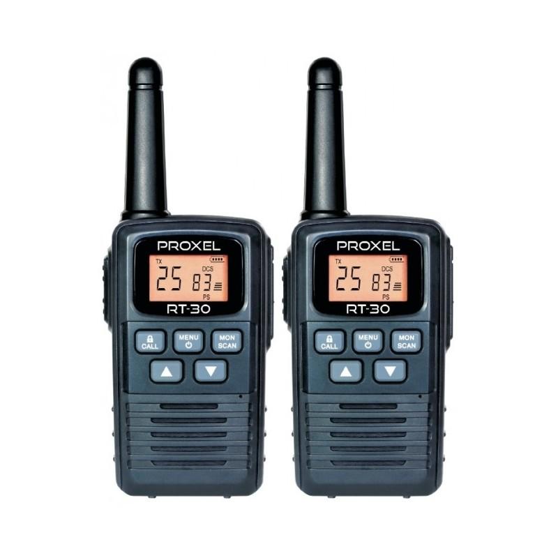 PROXEL RT-30 COPPIA DI PMR446 UHF PORTATILE