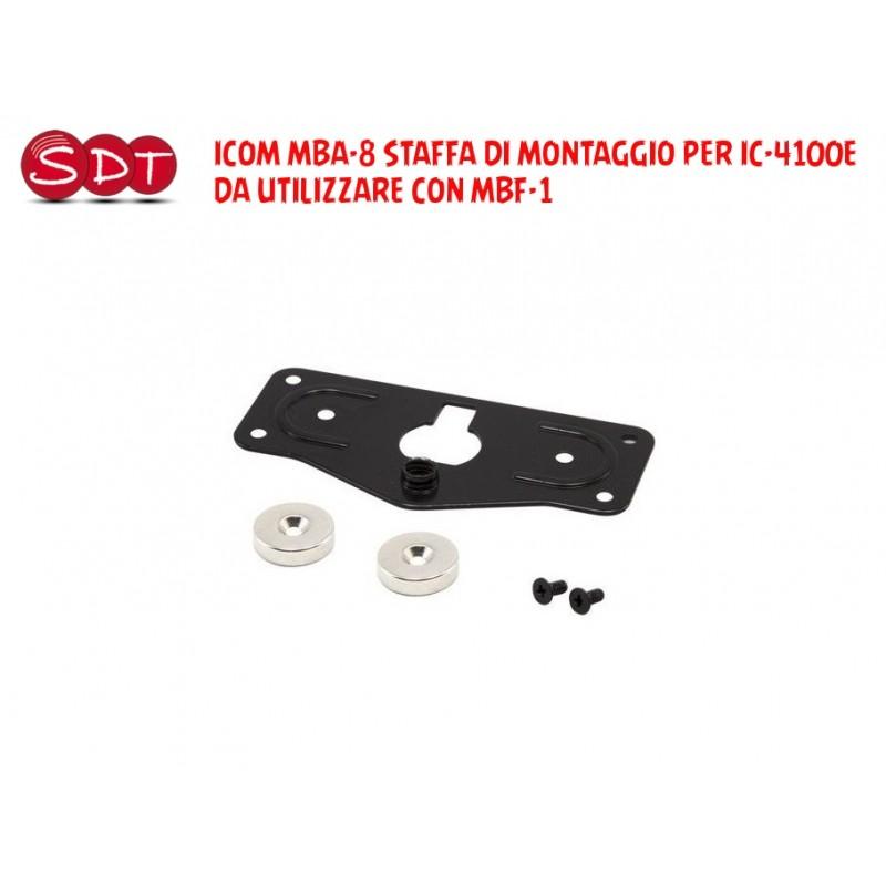 ICOM MBA-8 STAFFA DI MONTAGGIO PER IC-4100E DA UTILIZZARE CON MBF-1