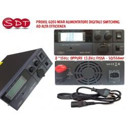 PROXEL 6055 NFAR ALIMENTATORE 9 ~15Vcc  OPPURE  13.8Vcc FISSA  50/55Amp SWITCHING AD ALTA EFFICIENZA