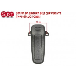 STAFFA DA CINTURA BELT CLIP PER HYT TH-446PLUS E SIMILI