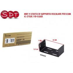 MBF-4 STAFFA DI SUPPORTO VEICOLARE PER ICOM IC-2730E / ID-5100E
