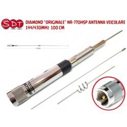 """DIAMOND """"ORIGINALE"""" NR-770HSP ANTENNA VEICOLARE  144/430MHz  100 CM"""