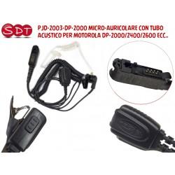 PJD-2003-DP-2000 MICRO-AURICOLARE CON TUBO ACUSTICO PER MOTOROLA DP-2000/2400/2600 ECC..