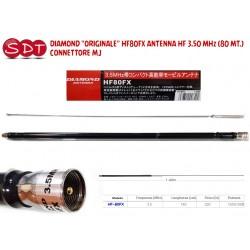 "DIAMOND ""ORIGINALE"" HF80FX ANTENNA HF 3.50 MHz (80 MT.) - CONNETTORE MJ"